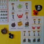 Letter Pp....Pirate Unit