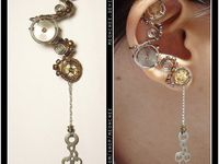 Steam punk jewelry and clothes