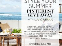 Style Your Summer With Pottery Barn & La Crema