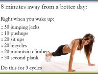 Work Out/Diet Tips