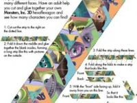 1000+ images about Printables: Hexaflexagons on Pinterest ...