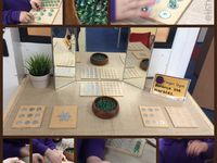 Activities I have provided as part of developing fine motor control.  My Finger Gym Area incl other fine motor activities.  Board