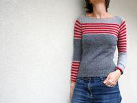Suéteres combinados