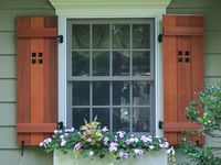 1000 images about exterior windows on pinterest board for Mission style shutters