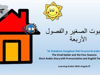 The Small Spider And The Four Seasons Short Arabic Story In Pdf With English Translation In 2021 Short Stories English Story Books English Translation