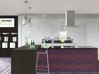High end Kitchens by MasterKraft Home Interiors (Pty). Ltd. / Elegant modern modular kitchens using ArtiCAD designs by MasterKraft Kitchen Interiors