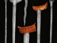weapons / beautiful weapons from around the world..how warriors used to go into battle against each other..not the savage warfare of today.