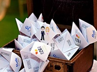 Creative Escort Card Ideas