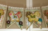 Banners and garlands