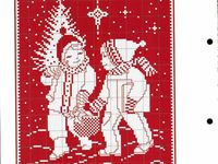 BRODERIE ROUGE ET BLANC
