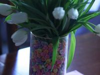 37 Best Vase Filler Ideas Images On Pinterest Black And White Bulbs And Candles