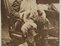 OLD Santa pictures and postcards