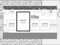 Scrapbooking Layout Sketches to inspire