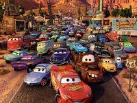 Disney cars / Kat-chow
