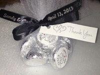 black and silver wedding ideas
