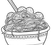 1000 images about food coloring pages on pinterest doodle pages coloring pages and spaghetti. Black Bedroom Furniture Sets. Home Design Ideas