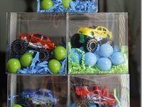 Monster truck birthday!