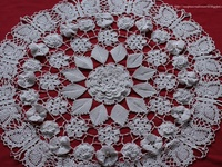 Crochet Wisteria Flower Pattern : 13 Best images about Crocheted doilies on Pinterest Free ...