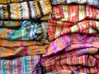 knitting and crochet :)