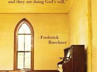 Frederick Buechner On Vocation Quotes