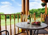 Countryside Holiday / Forest View Retreat holiday log cabins in Worcestershire.