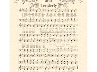 1000 images about olde tyme church hymns sheet music - In the garden lyrics van morrison ...