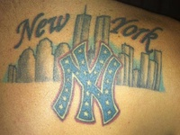 27 Best New York Yankees Tattoos Images On Pinterest Tattoo Ideas Piercings And Tatoos