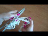 MES VIDEOS tricot - crochet