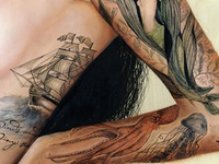 25 best kelp tattoo images on pinterest seaweed beach and channel islands. Black Bedroom Furniture Sets. Home Design Ideas
