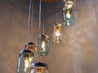 selbgebastelte lampen