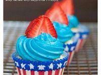 Cakes/Cupcakes:Patriotic