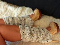 Crochet Boot Cuffs and Leggings