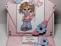 cards:  easel fold