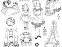 Paper toys on pinterest paper dolls vintage paper dolls and paper