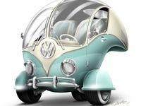 """Volkswagen Bus T1 (Type 2) / VW Bulli (eng. """"Splittie"""" or """"Splitty"""")"""