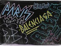 Shagwear Cartera para Hombre Bunte Graffiti//Colorful Graffiti