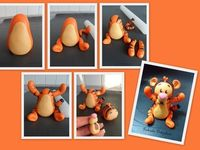 Polymer Clay Disney Characters