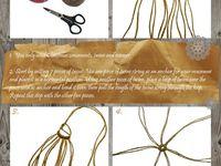 cordes, noeuds, macramé