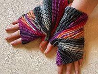 Knitting, garter stitch