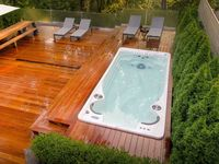 Deck and Spa design