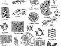 Art projects, Zentangle