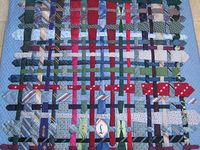 MEN'S TIES QUILTS & CRAFTS