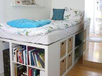 8 besten stauraum unterm bett bilder auf pinterest bett bauen bett mit stauraum und. Black Bedroom Furniture Sets. Home Design Ideas