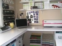 My dream craft room!