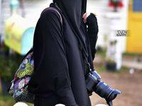 Pin By Ahmed Kh On Ukhty Wa Akhwat Niqab Burka Hijab Niqab