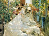 Sorolla, Sargent and Boldini, the elegant painters
