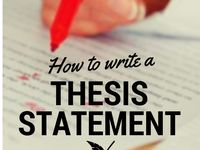 thesis masters degree