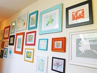 Frames & gallery wall inspiration.