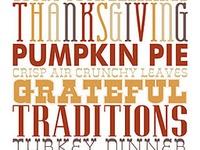 Holidays - Fall/Thanksgiving