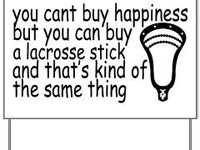 I play lacrosse, you should try it out